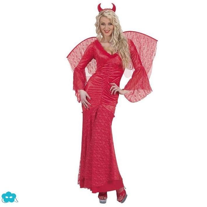 Disfraz de diabla elegante para mujer