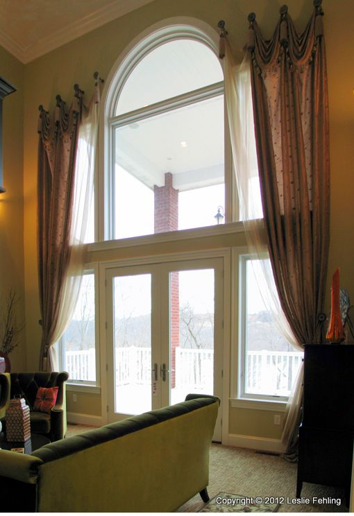 17 Best Ideas About Arch Window Treatments On Pinterest