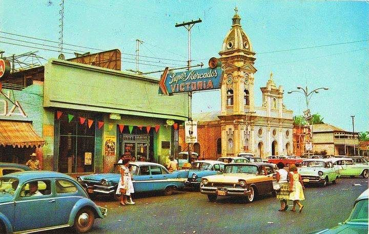 Cabimas, Venezuela, circa 1958