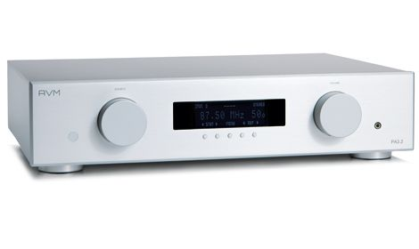 The AVM Evolution PA3.2, a versatile, modular pre amplifier, hand crafted in Germany.