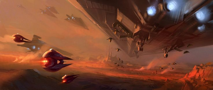 Star Wars II concept art by Ryan Church