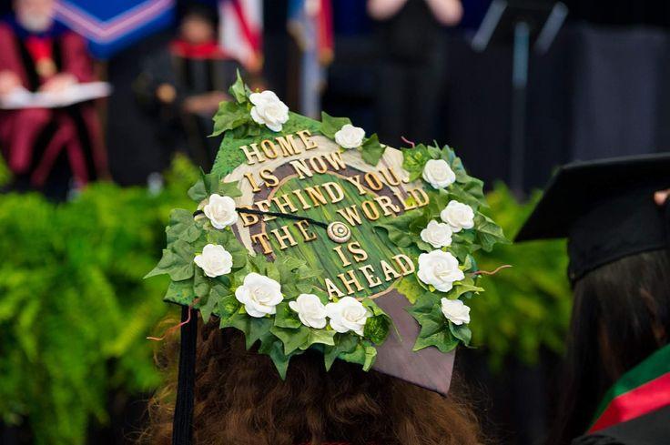 My graduation cap from Hobbit! #tolkien #gradcap #lotr
