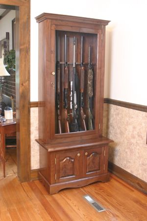 20 best Gun Cabinet Plans images on Pinterest | Gun cabinets, Gun ...