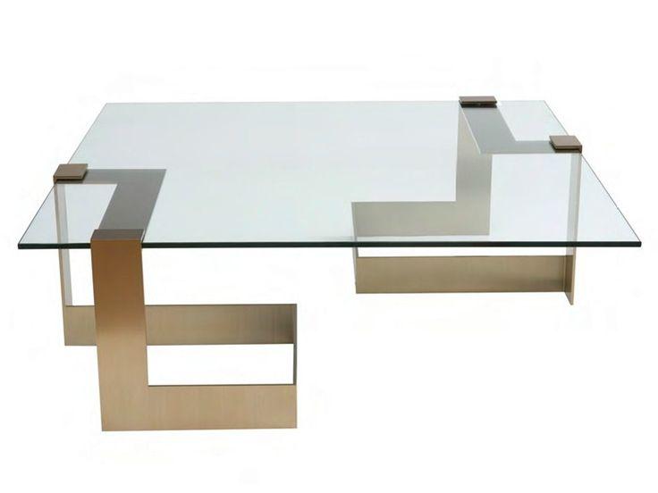 Tavolino Basso Rettangolare In Vetro ANCHOR By Donghia | 디자인가구 | Pinterest  | Glass, Tables And Consoles