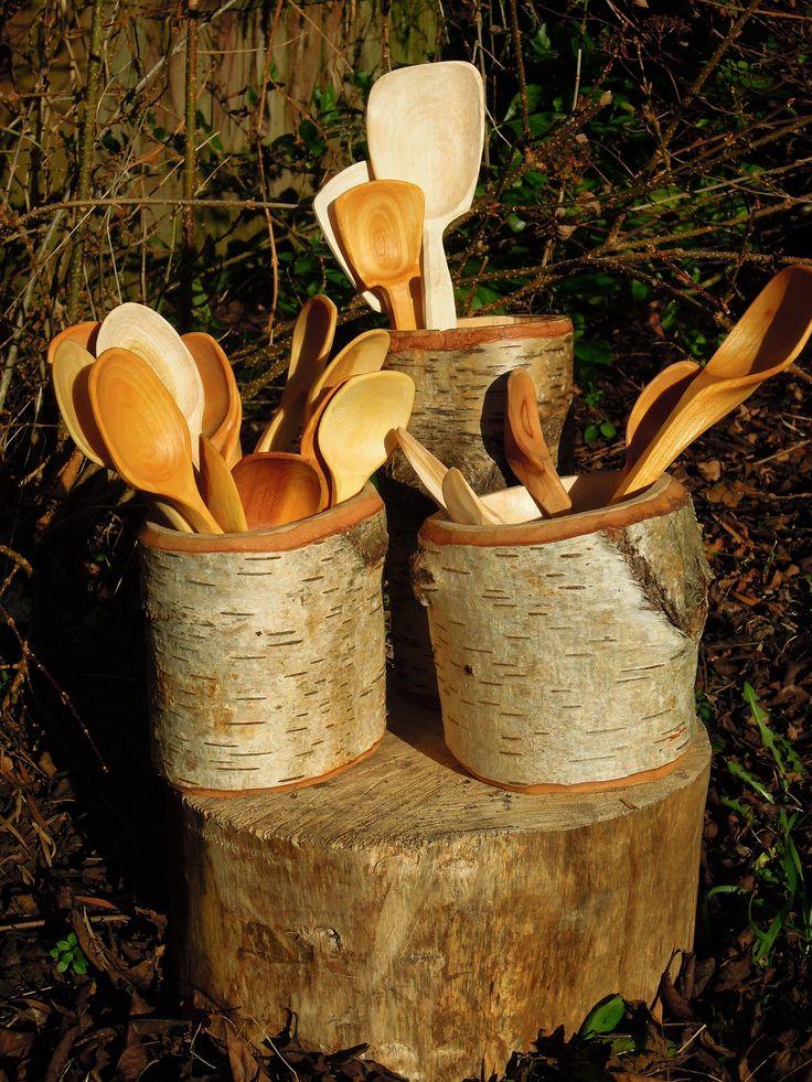 Birch shrink pots - Sharif Adams