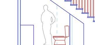 bathroom under stairs info