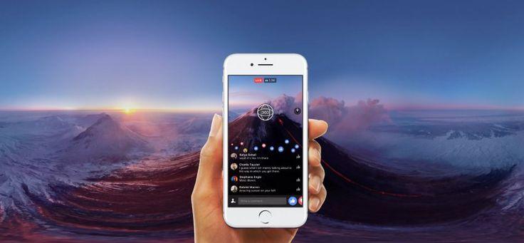Facebook Live 360 από σήμερα διαθέσιμο για όλους - https://wp.me/p3DBOw-EtF - Ετοιμαστείτε να δείτε ένα σωρό βίντεο 360 μοιρών στο Newsfeed σας. Το Facebook επιτρέπει πλέον στον κανέναν από εσάς να κάνετε streaming βίντεο 360 μοιρών στη σελίδα ή το προφίλ σας, υπό την προϋπόθεση ότι έχετε την κατάλλη