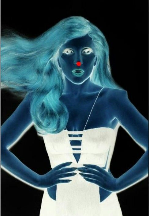 Look at the red dot for thirty seconds then look at a blank spot.