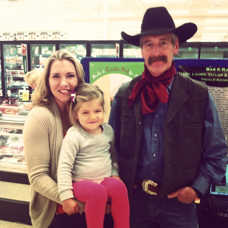 Rancher Mark at Save On Foods in North Vancouver.