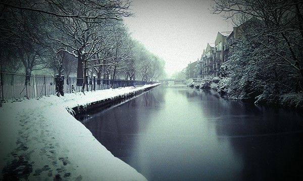 Hertford Union Canal, Winter
