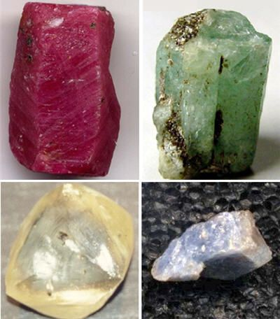 pierres prcieuses rubis meraude diamant saphir - 45 Ans De Mariage Pierre Precieuse