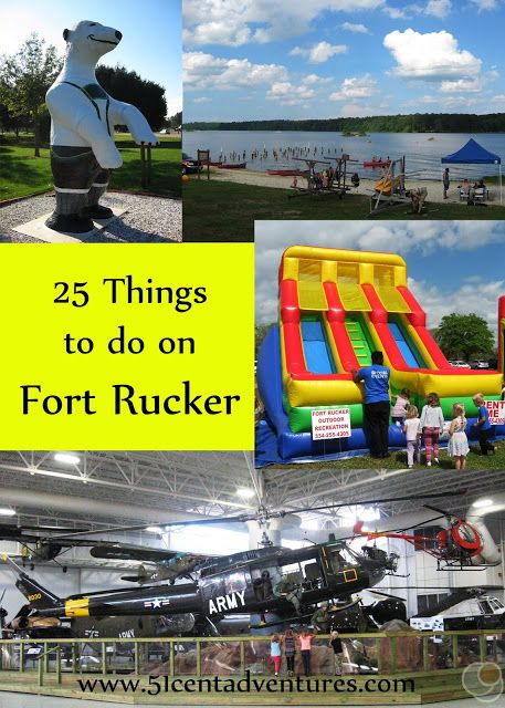 51 Cent Adventures: 25 Things to do on Fort Rucker in Lower Alabama