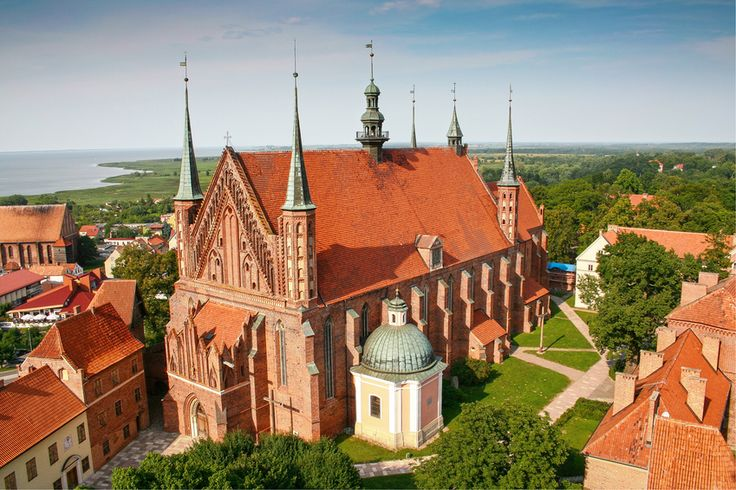 Frombork Cathedral,  place of burial Nicolaus Copernicus