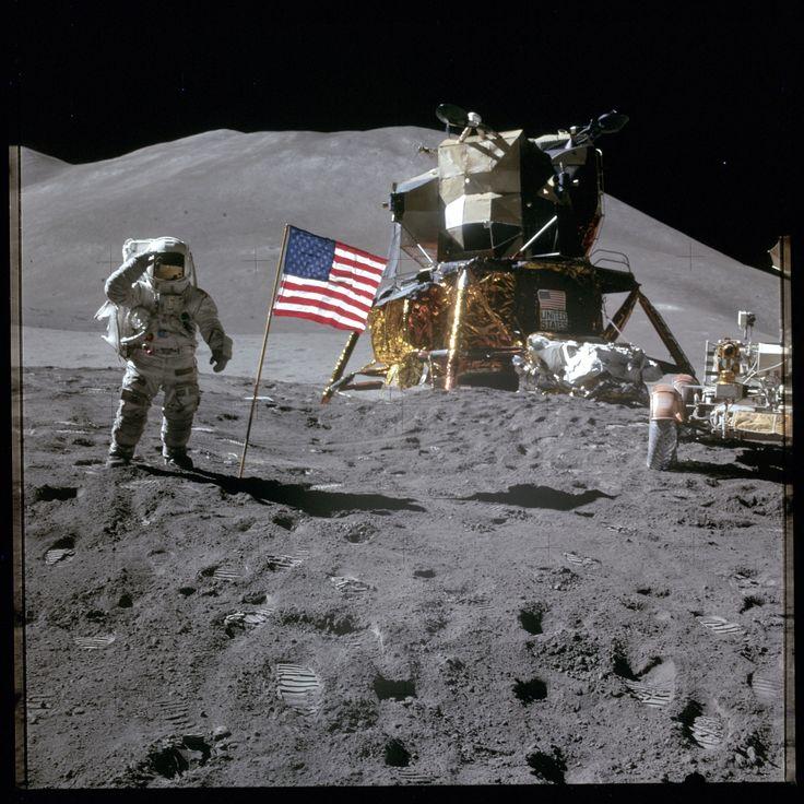 NASA Releases Apollo Moon Mission Photos: Pictures