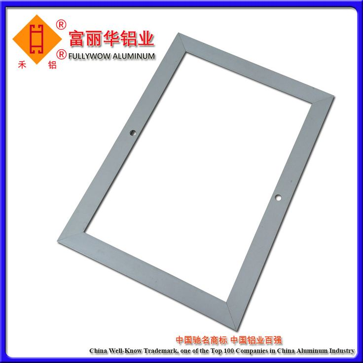 Color Anodized or Color Powder Coated Aluminum Photo Frame for frame of Photos and Paintings