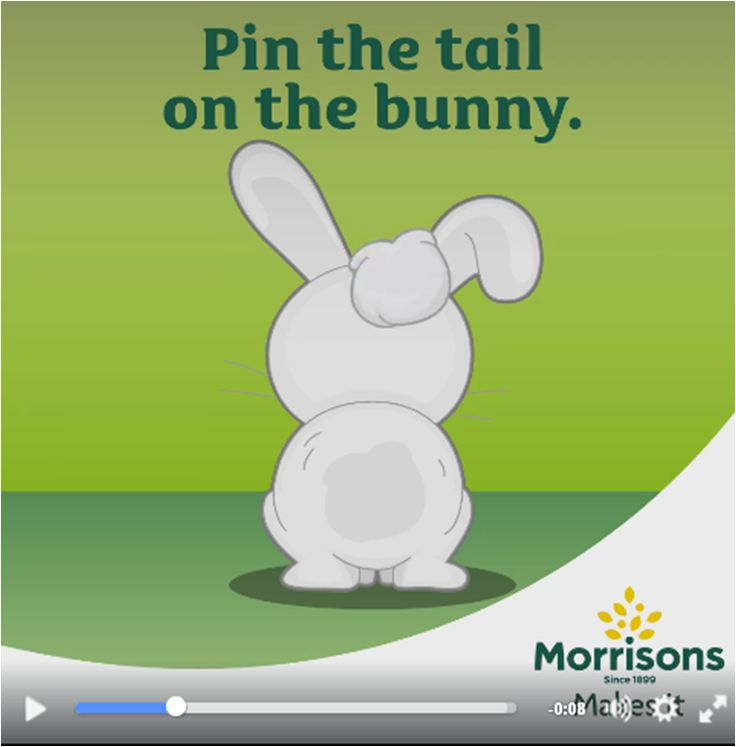 Can you pin the tail on our bunny? Try our fun and addictive Pin the Tail on the Bunny game for some Easter fun!