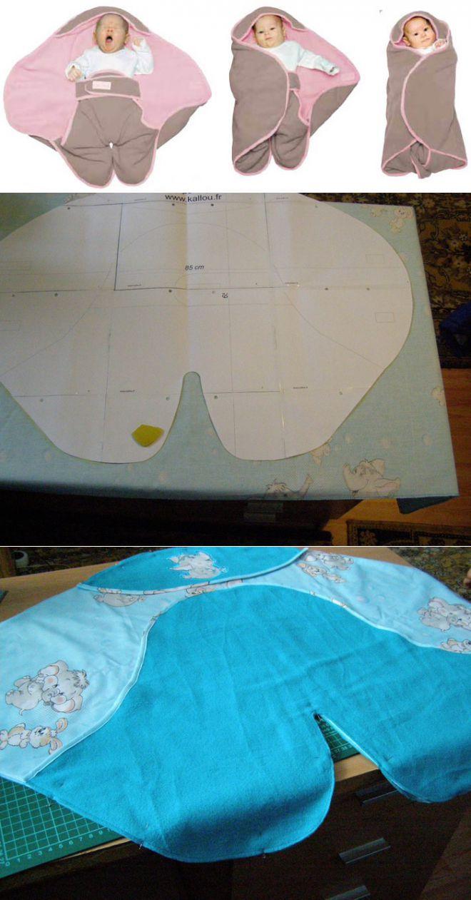 Конверт-одеялко для новорожденных 'Babynomade' Red Castle. | Детство | Постила