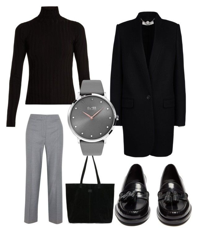 Untitled #677 by cathatin on Polyvore featuring polyvore, fashion, style, Acne Studios, STELLA McCARTNEY, Cédric Charlier, Yves Saint Laurent, TOMS, BOSS Black and clothing