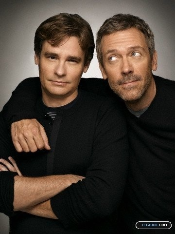house md robert sean leonard and hugh laurie i really want to know what their real life relationship is likei bet theyre just as idiotic off set as on - Tv Shows Like House