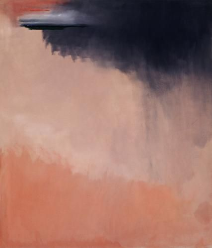 Helen Frankenthaler, Cloud Burst, 2002, Acrylic on canvas 79 1/4 x 68 1/4 inches  (201.3 x 173.4 cm)
