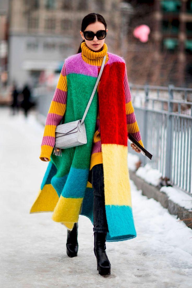 Die besten Street-Styles der New York Fashion Week