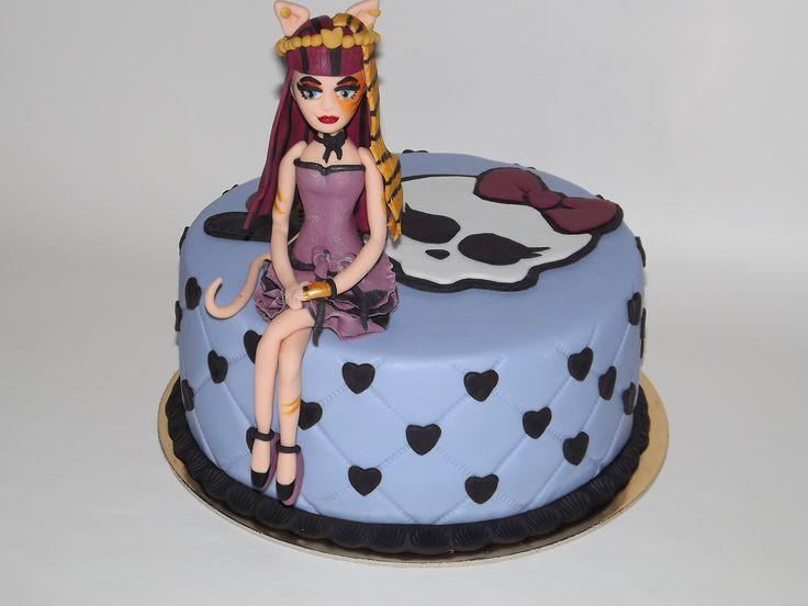 Monster high cake Cleolei