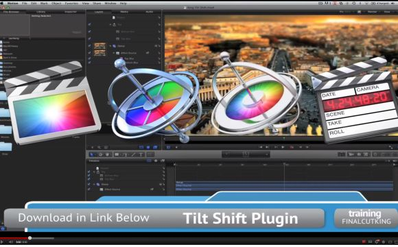 Motion 5 Tilt Shift PLugin
