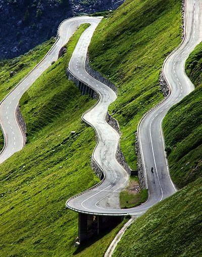 Furka Pass (el. 2429 m.) in the Swiss Alps.