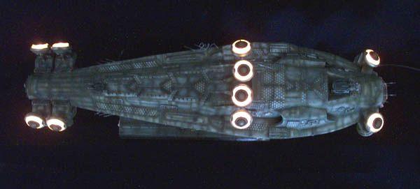 ModelGeek :: The Neb: 1st Matrix hovercraft scale replica