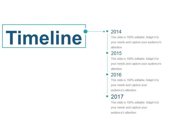 Professionally designed, visually stunning - Timeline Ppt PowerPoint