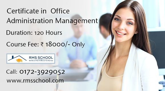 Join #Office #Administration #Management #Course in #Chandigarh #Mohali #Panchkula