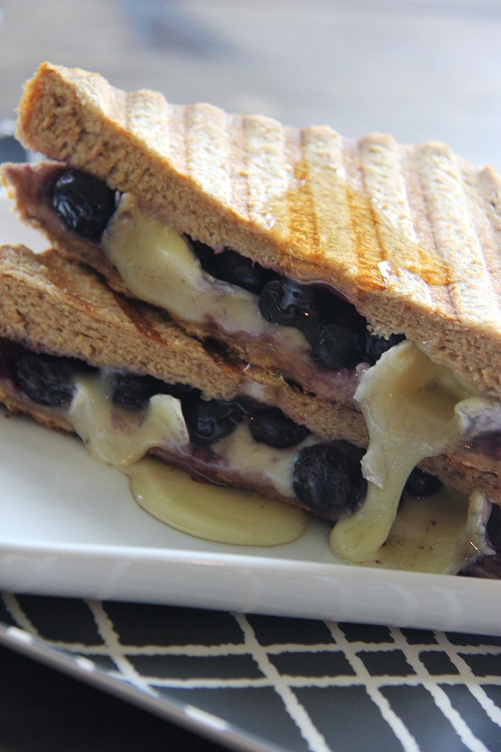 Blueberry and Brie Grilled Cheese | Imagine the sweetness, freshness, and all the delicious-ness combined. Yes, that's it!
