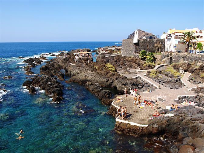 Rock pools, Garachico (Tenerife, Canary Islands)