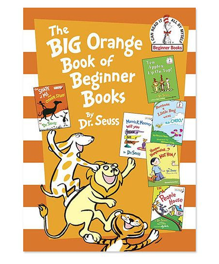 Dr. Seusss Big Orange Book of Beginner Books Hardcover | zulily