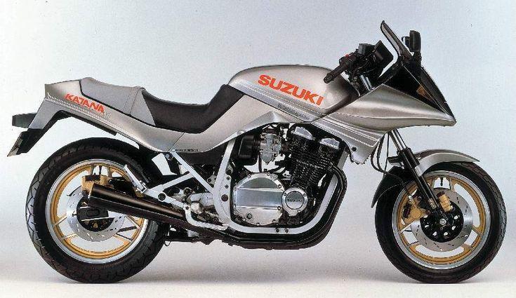 Suzuki GSX750SE Katana