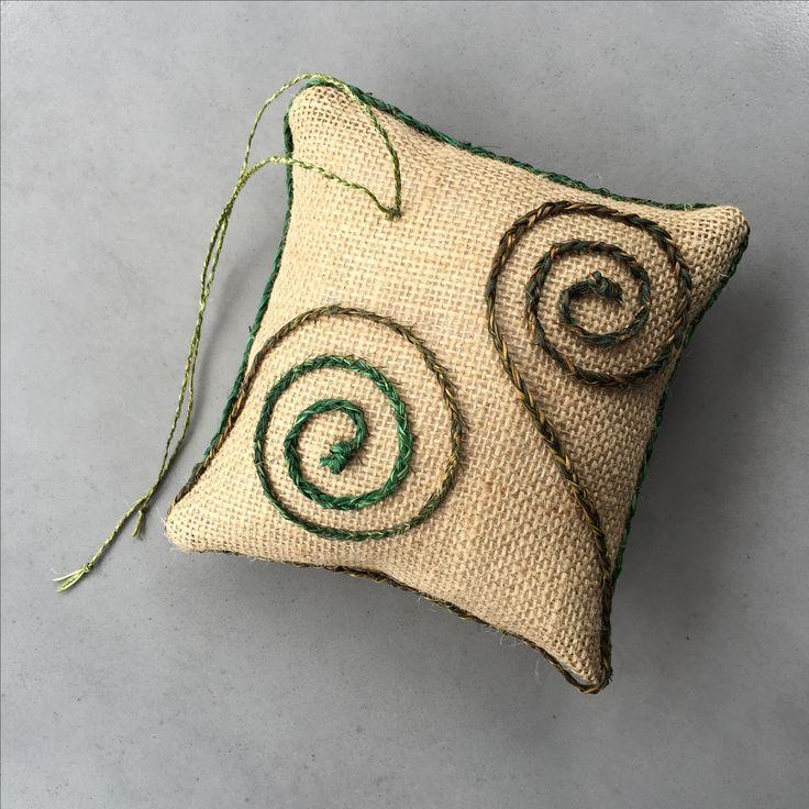 Koru ring pillow
