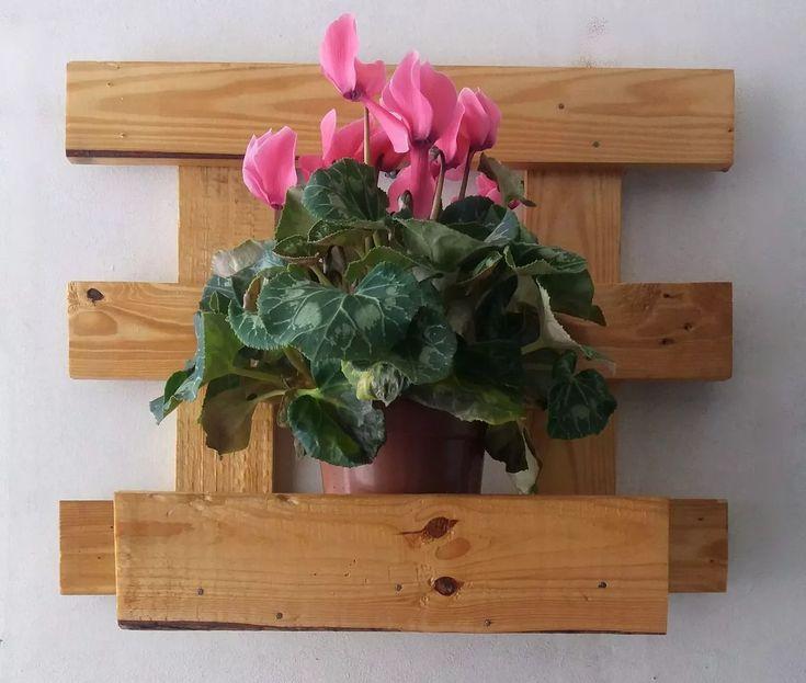 floreira vertical de madeira - jardim vertical - R$ 19,71