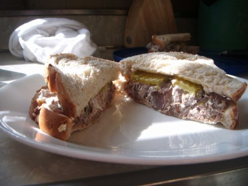 Beef Salad Sandwiches Recipe via @SparkPeople