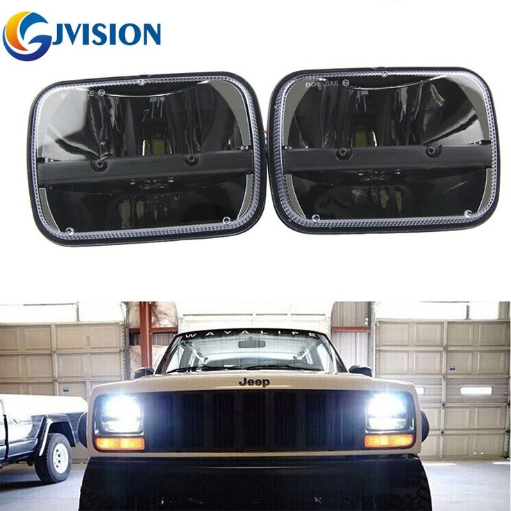 103.55$  Watch here - http://ali4ts.shopchina.info/go.php?t=32803677932 - 2PCS 5X7 inch 40W LED Car headlight High and Low Dual Beam Square Truck led headlights for Jeep Cherokee XJ Headlamp 103.55$ #buychinaproducts