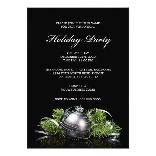32 best Corporate Holiday Party Invitations images on Pinterest - corporate invitation text
