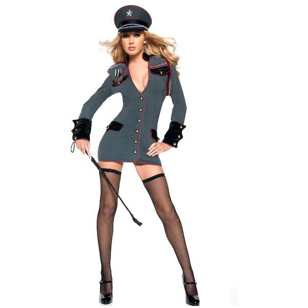 Deluxe Sexy General Perversion Adult Costume ($85) ❤ liked on Polyvore featuring costumes, costume, fantasias, deluxe costumes, deluxe halloween costumes, deluxe adult costumes, sexy adult costumes and adult costume