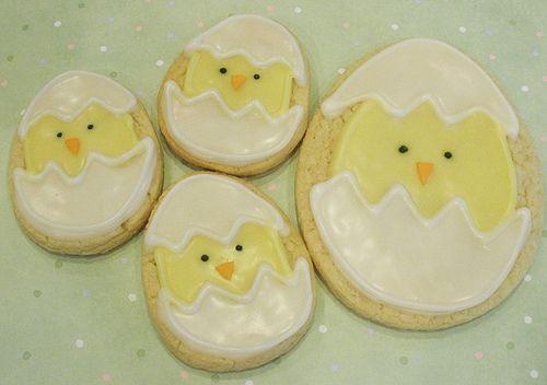hatchingSugar Cookies, Chicks Cookies, Adorable Cookies, Easter Eggs, Cake Pantries, Lemon Cookies, Easter Cookies, Cookies Holiday, Easter Ideas