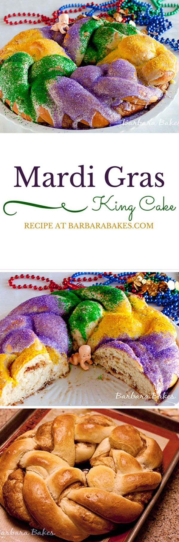 No Mardi Gras celebration is complete without a colorful King Cake