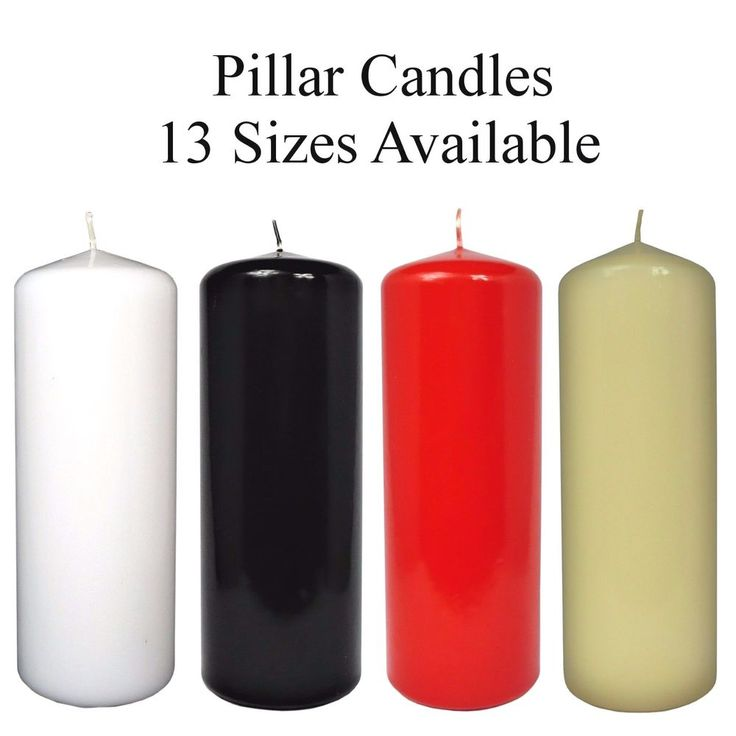 Pillar Candles ! Extra Large Church Candles ! Wedding Candles