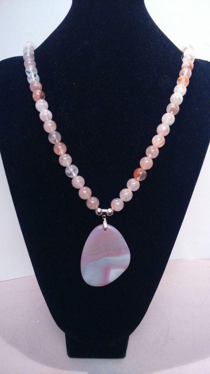 1000 ideas about collares de piedras naturales on - Piedras para collares ...