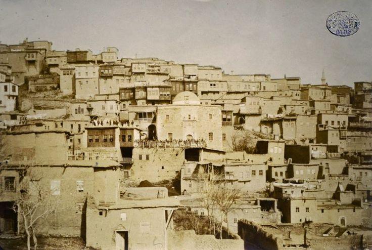 The Armenian houses in the St. Hagop neighborhood of the city of Harput (Veri Tagh)