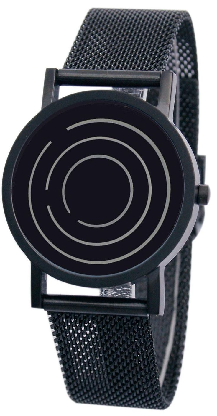 Projects Free Time All Black Steel Watch - Cool Watches from Watchismo.com