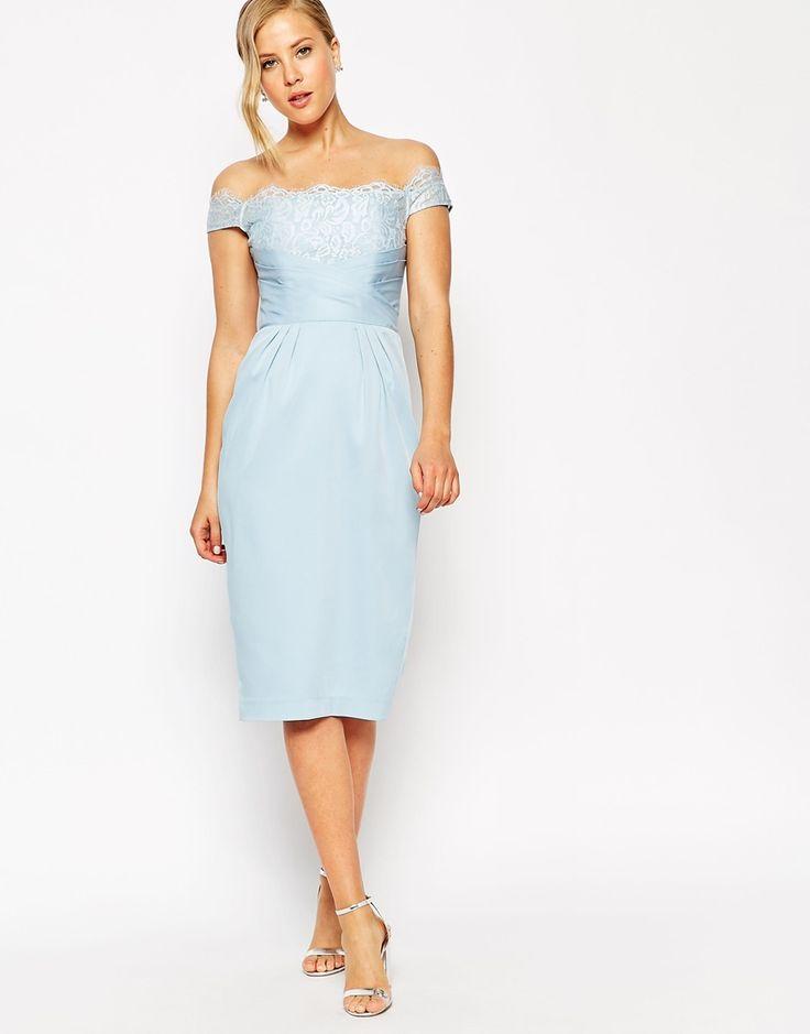 ASOS+Lace+Wrap+Pencil+Dress