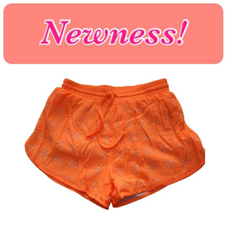 New shorts!  Super cute :)