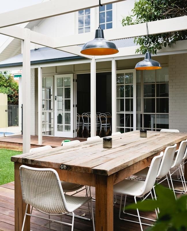 Westley outdoor table